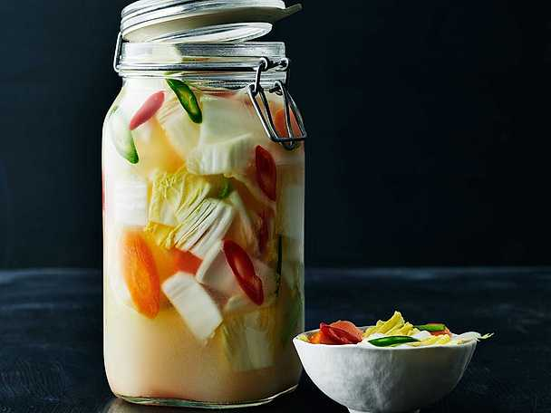 Vit kimchi