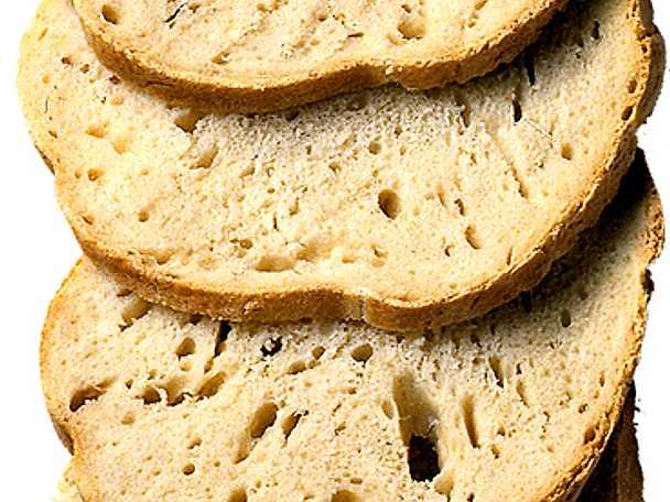 Vitt matbröd med vallmofrön