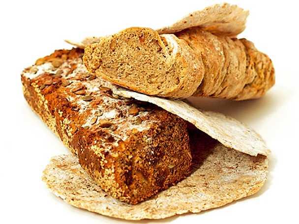 Wrapbröd på dinkel och råg