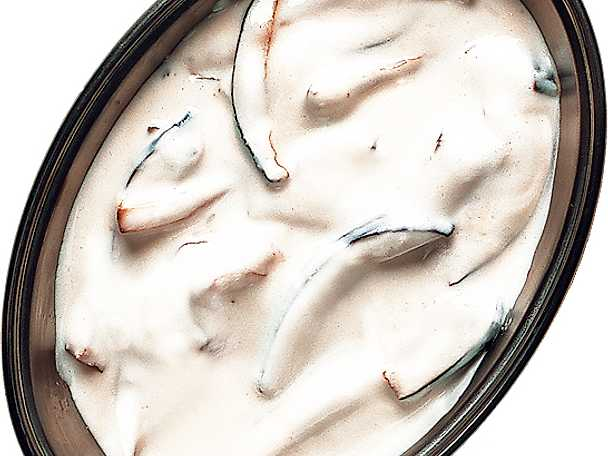 Yoghurt med aubergine