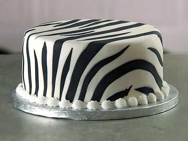 Zebramönstrad tårta - se & gör