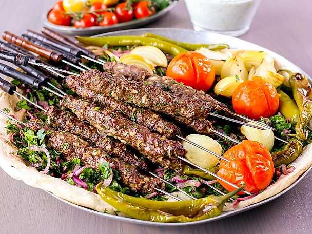 Zeina Mourtadas kebabspett