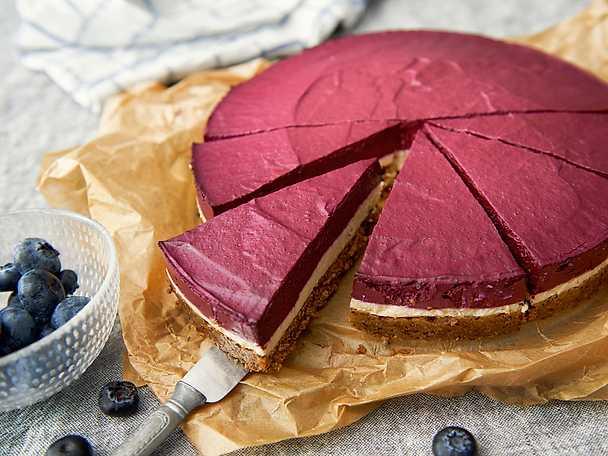 Zeta Blåbär - och citroncheesecake