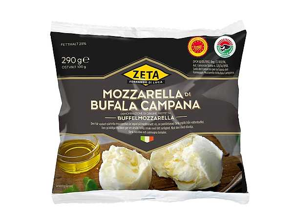 Zeta buffelmozzarella produkt