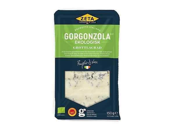 Zeta ekologisk gorgonzola produkt