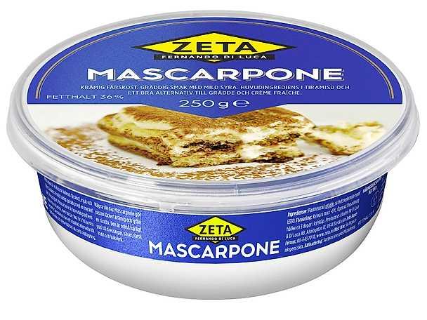 Zeta mascarpone