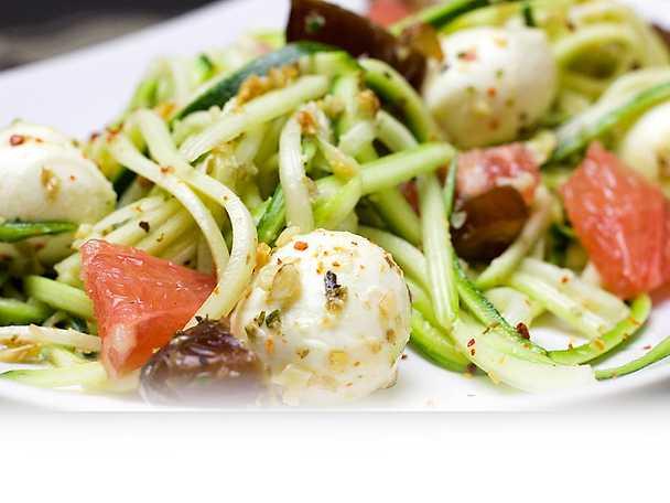 Zoodles zucchinipasta