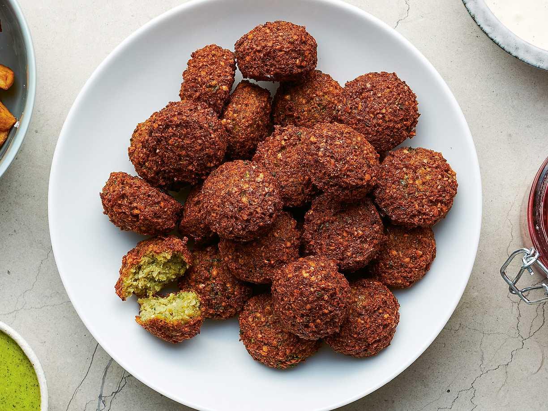 falafel recept okokta kikärtor