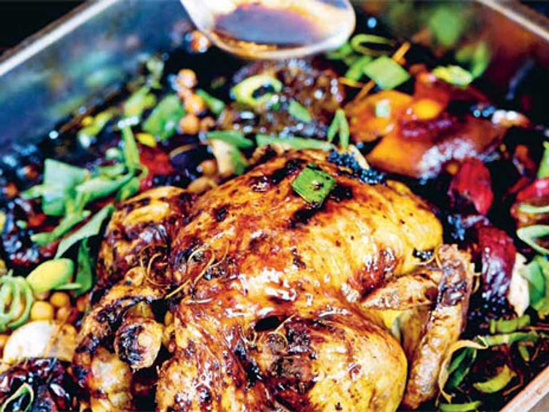 hel kyckling i ugn temp