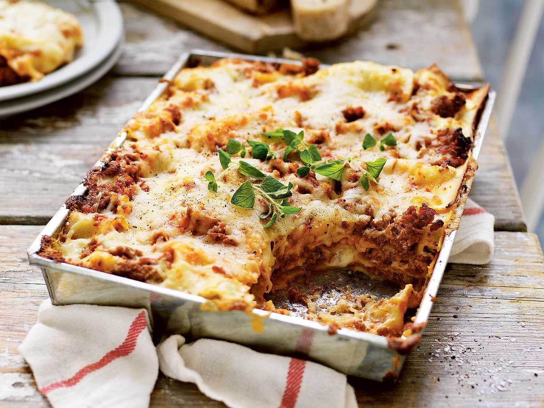 lasagne med grädde