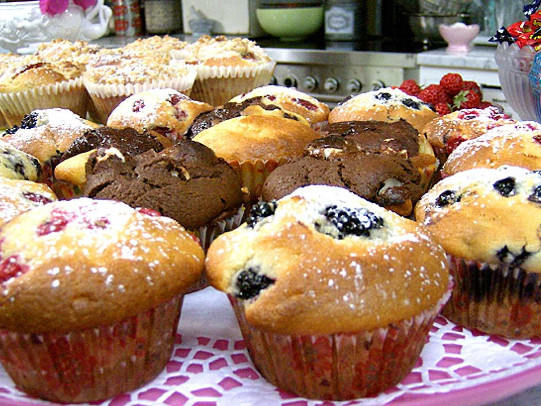 goda muffins recept