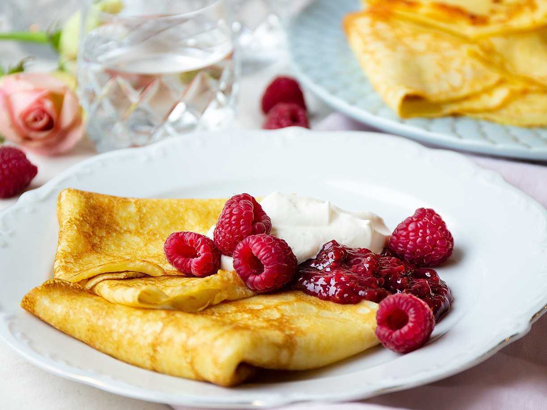 tunna pannkakor grundrecept recept
