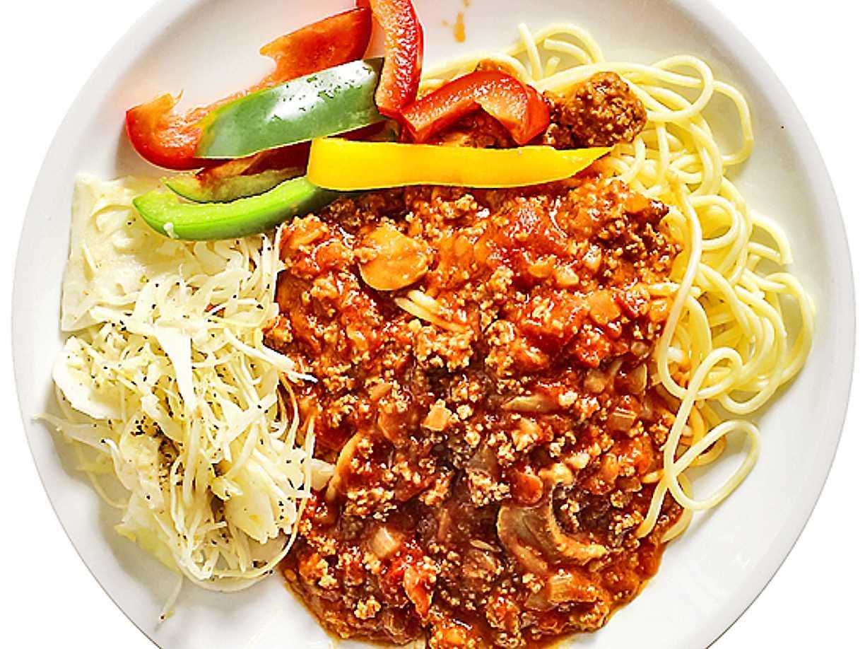pasta med quorn