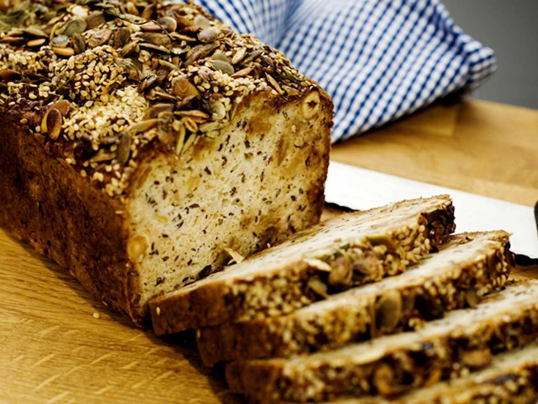bröd med yoghurt och bikarbonat