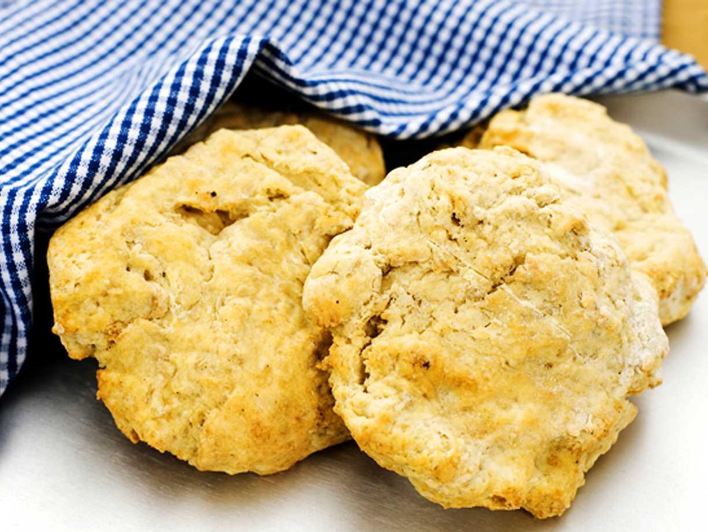 grova scones med havregryn