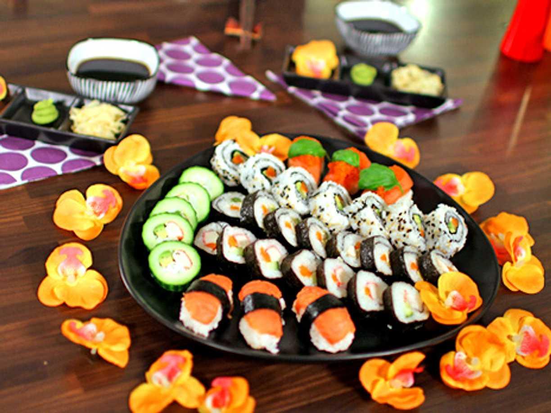 köpa sushi ingredienser