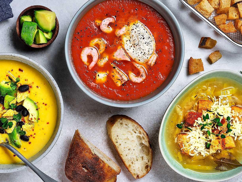godaste vegetariska soppan