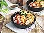 Beijing Snabba dumplings med smakrik fläskfilé och teriyakigrönsaker