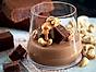 Chokladmousse med brownie och kolasås