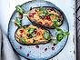 Felix aubergine med sötpotatishummus