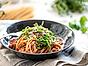 Fullkornsspaghetti med tomatsås