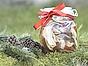 Mandelmanns auberginesill med lime och koriander