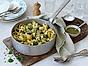 Pasta Vongoloni med pesto och blomkål