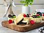 Philadelphia Busenkla minicheesecakes med oreos och hallon