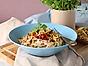 Planti snabb och krämig matvete-otto med zucchini