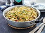 Spaghetti Carbonara med halloumi
