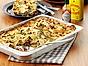 Vegetarisk lasagne med blomkålstopping
