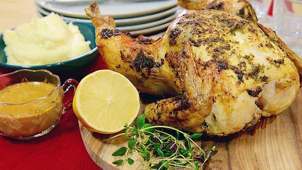 färsk kyckling i ugn