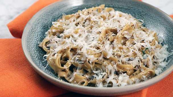 tryffelolja pasta recept